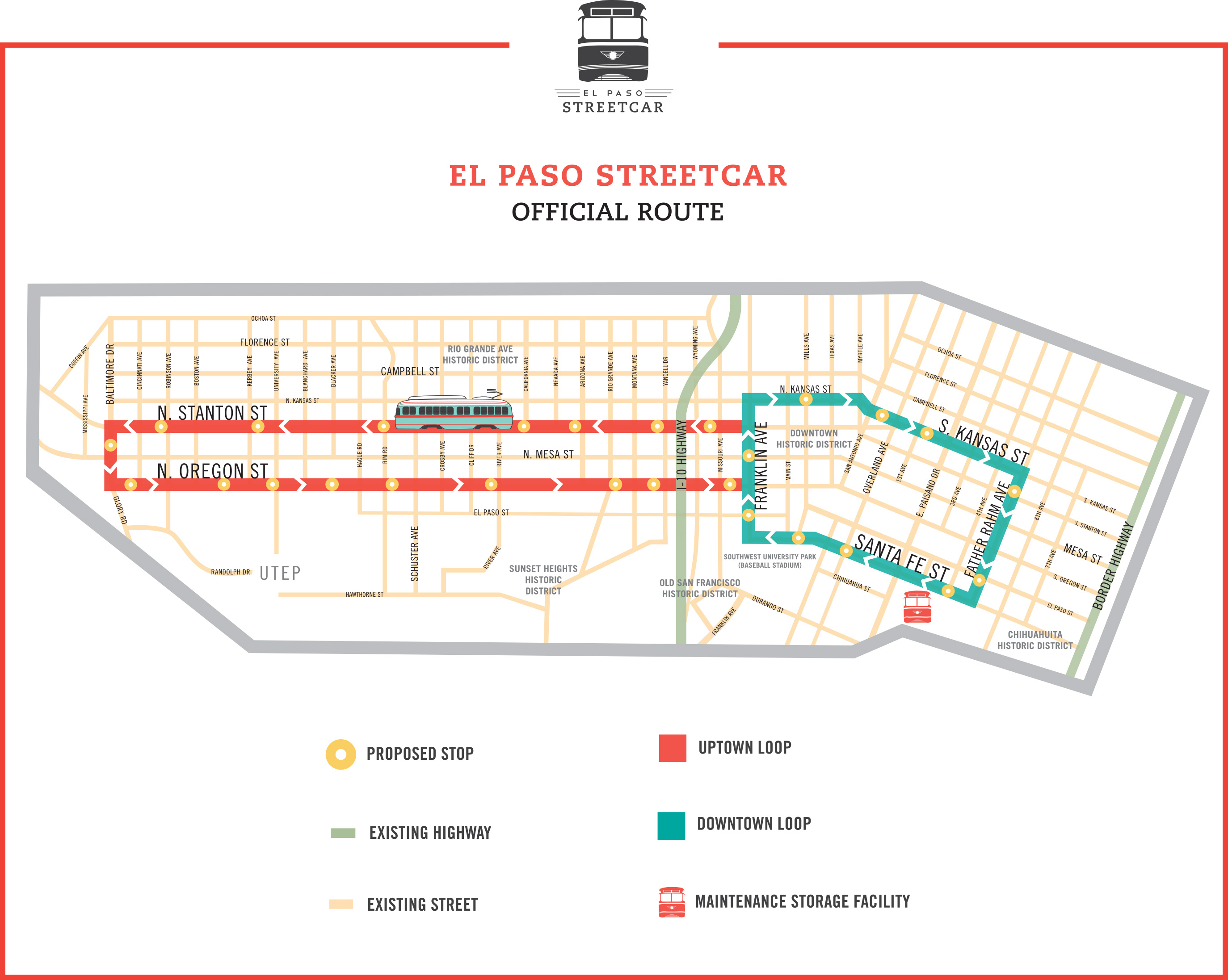 El Paso Streetcar Project Camino Real Regional Mobility Authority Circuit Diagram Also Home Theater Wiring Further Wind Turbine Texas